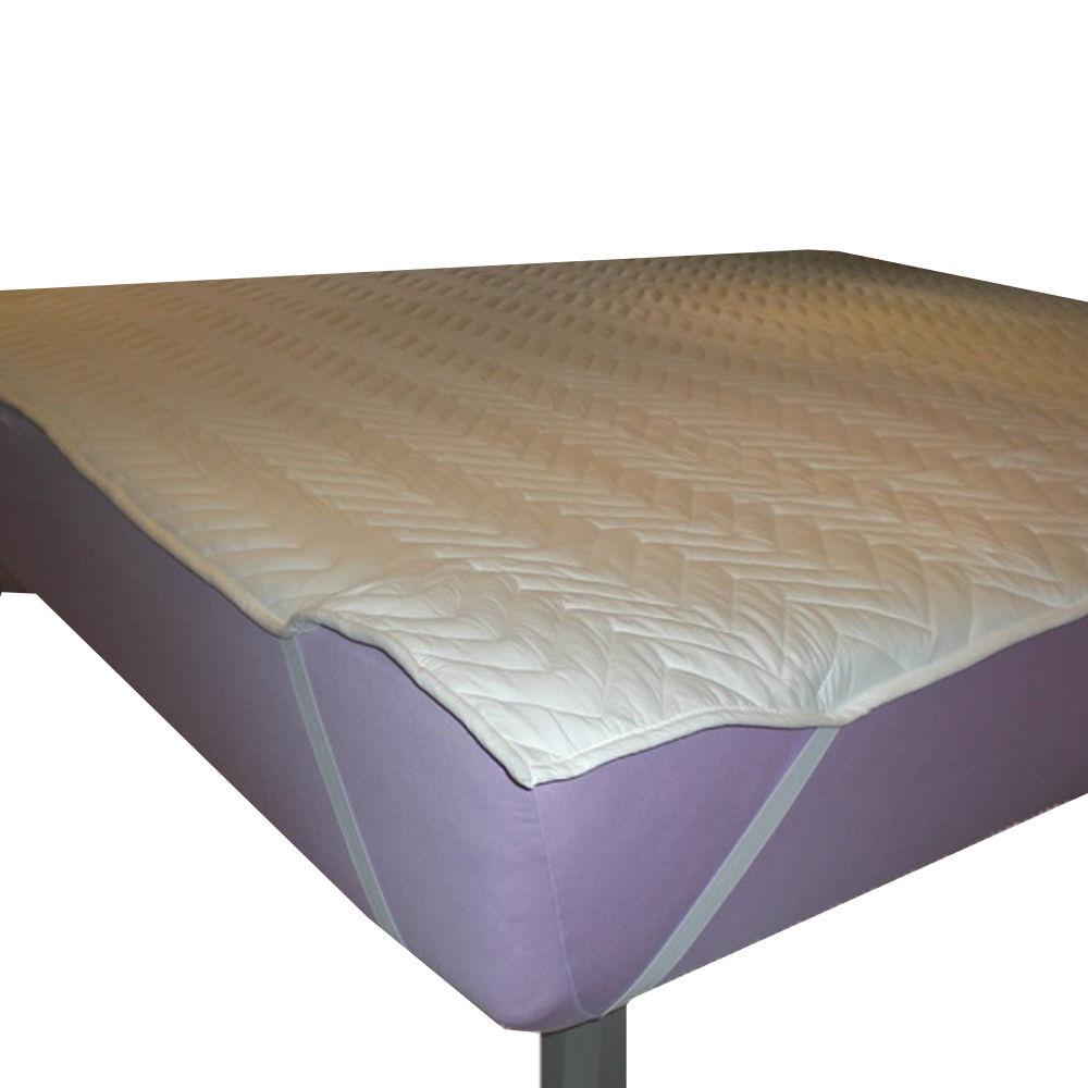 spannauflage schonbezug f r wasserbett auflage 200x220 ebay. Black Bedroom Furniture Sets. Home Design Ideas